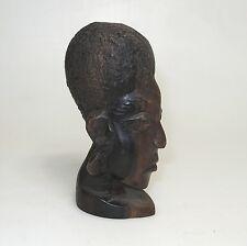 Bantu Kopf alte afrikanische Holzschnitzerei Teak ca. 14 x 7 cm