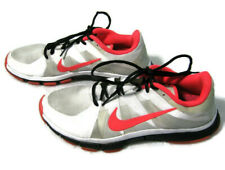 NIKE FREE 5.0 RGB Mens (Size 9) White & Neon Pink Running Shoes Fitness Sneakers