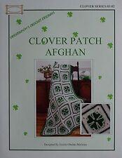 CLOVER PATCH AFGHAN ORIGINAL CROCHET PATTERN