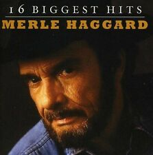 Merle Haggard : 16 Biggest Hit Country 1 Disc CD