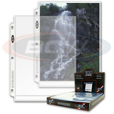 BCW 10 sheets Pro 1 pocket pages 8x10 8 X 10 Photos ultra protective storage
