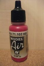 AIRBRUSH PAINT VAL102 - AV Vallejo Model Air - Red (RLM 23)