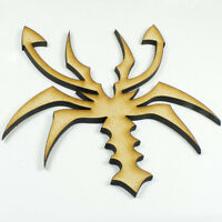 MDF Wood Wooden Shape / Shapes Scorpion Cutout for Craft Home Room Decor Kids