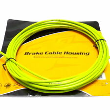 Jagwire 25 feet 5mm Brake Cable Housing with Lubricated inner Tube, Green, F03