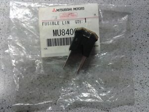 MITSUBISHI SHOGUN PAJERO L200 80AMP BLACK GLOW PLUG FUSE LINK