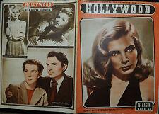 HOLLYWOOD N° 36/06.SET.1947 Sett.le Cinematografico: LIZABETH SCOTT- ANDREA KING