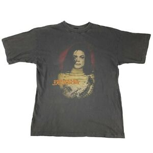 Michael Jackson Vintage Faded Look T-Shirt Tee Size L