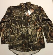 Browning Wasatch Feildwear Long Sleeve Button Up Max4 Size Med NWT