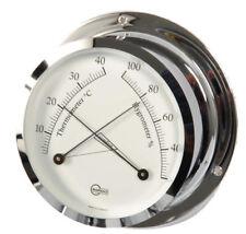 Thermo Hygrometer Analog BARIGO Star Chrome 110mm