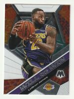 2019-20 Panini Mosaic Will to Win Insert Lebron James Los Angeles Lakers #7