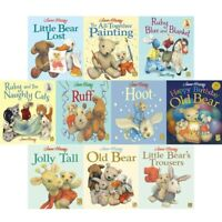 Jane Hissey Old Bear Series 10 Books Collection Set Pack Little Bear Lost NEW