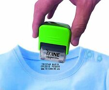 Self Inking Stamp Up to 3 Lines Customized Text Clothing Label and clothes