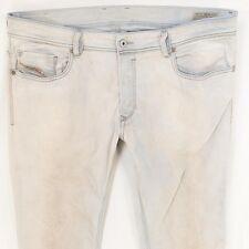Para Hombre Diesel Sleenker 0829I Stretch Slim-Skinny Jeans Azul W36 L34