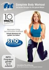 FIT FOR FUN-10 MINUTE SOLUTION - COMPLETE BODY WORKOUT  DVD SPORT & FITNESS NEU
