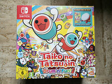 TAIKO NO TATSUJIN Drum n Fun PACK BUNDLE TAMBOUR HORI Nintendo Switch NEUF VF FR