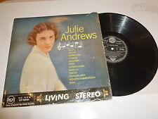 JULIE ANDREWS - Sings - 1958 UK 12-track Vinyl LP