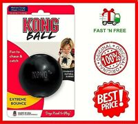 Kong Extreme Ball Dog Toy Black, Medium-Large, Free&Fast Shipping