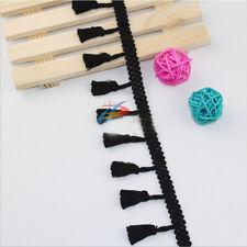 1/10Yrd Tassel Fringe Cotton Trim Braid Ribbon Craft Sewing Furnishings Applique