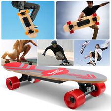 Elektro Skateboard 350W Longboard E-Skateboard mit Fernbedienung ALi-Akku 20KPH