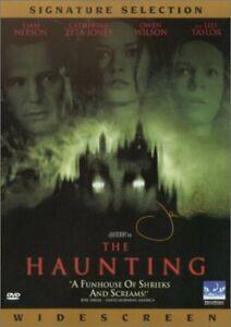 Brand New DVD The Haunting Liam Neeson Catherine Zeta-Jones 2000