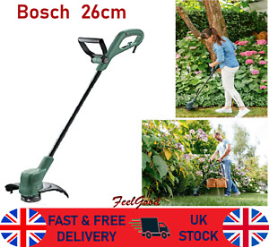 Electric Grass Trimmer Garden Bosch Lawn Heavy Duty Weed Strimmer Cutter 26cm