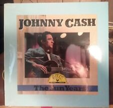"FACTORY SEALED! JOHNNY CASH ""THE SUN YEARS"" RARE CANDADIAN BMG ISSUE/RHINO LP"