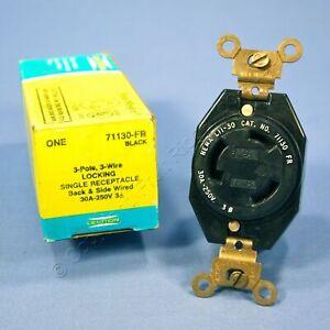 Leviton Turn Twist Locking Receptacle Outlet NEMA L11-30 30A 250V 71130-FR Boxed