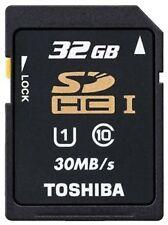 Toshiba 32GB SDHC Memory Card