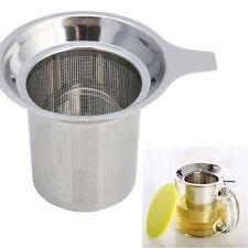 Edelstahl Teesieb Tee Sieb Teenetz Teefilter Teesiebe Tea Infuser Kannensie SE