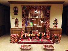 Cozy Handmade filled seating set ARABIC/Mediterranean for HOOKAH lounge