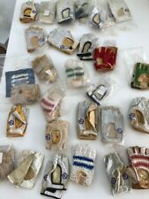 31pairs STOCK Vintage Rossin Crochet & Leather Retro Road Bike Gloves Rare NOS
