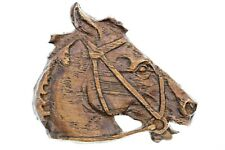 Head Brooch 15627/H/P49 Free Shipping Unique Hand Carved Wooden Horse