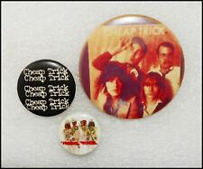 Cheap Trick Lot Of 3 Buttons Pin Badges