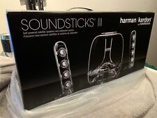 harman/kardon SoundSticks III 2.1 Soundsystem Lautsprecher Subwoofer NEU OVP