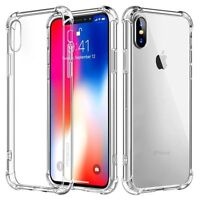 For iPhone 6 7 8 X XR XS Max Case Shockproof Bumper Slim Clear TPU Silicon Cover