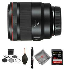 Canon RF 50mm f/1.2L USM Lens and memory