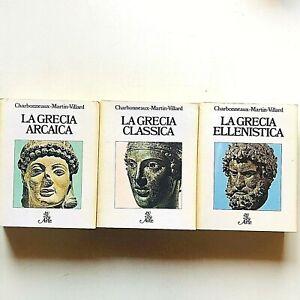 Charbonneaux Martin Villard Grecia Arcaica Classica Ellenistica BUR Rizzoli