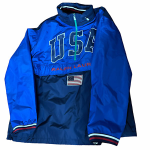 Polo Ralph Lauren USA Olympic Pullover Jacket Men Size XXL $248