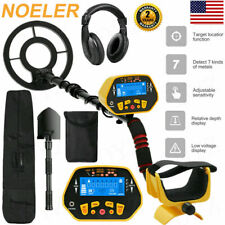 Deep Ground Metal Detector Gold Finder LCD Display w/ Waterproof Search Coil-NEW