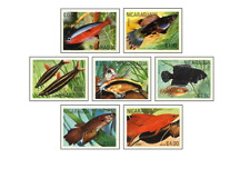 NIC8105 Tropical fish 7 stamps