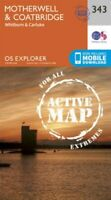 Motherwell and Coatbridge by Ordnance Survey 9780319472156 | Brand New