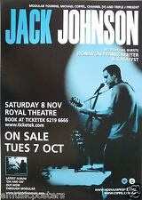 JACK JOHNSON/DONAVON FRANKENREITER '04 AUSTRALIA TOUR POSTER-Jack Playing Guitar