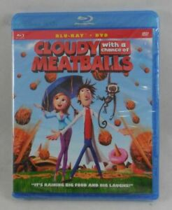 Cloudy With A Chance Of Meatballs Blu-Ray and DVD New & Sealed
