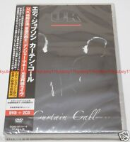 New EDDIE JOBSON UK CURTAIN CALL First Limited Edition DVD 2 CD Japan GQBS-90114
