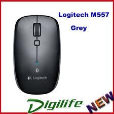 Logitech M557 Grey Bluetooth Wireless Mini Mouse for Notebook Laptop Mac PC
