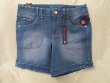 """Ladies """"Gloria Vanderbilt""""Size 16, Marieta Wash,""""Keegan"""" Slimming, Cuffed Shorts"""