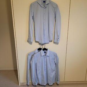 Joop Herren Business Hemden Hellblau Kragenweite 39 / 3 Stück !!!