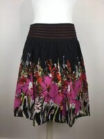 M&Co Mid length, Cotton, Floral Skirt, boho, sequin detail, BNWT  UK Size 16