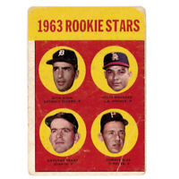 1963 Topps Gaylord Perry Tommy Sisk Dick Egan Julio Navarro #169 Rookie Card RC