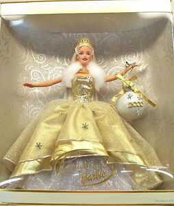 New In Box Holiday Celebration Barbie Special Year 2000 Edition Y2K Doll MATTEL